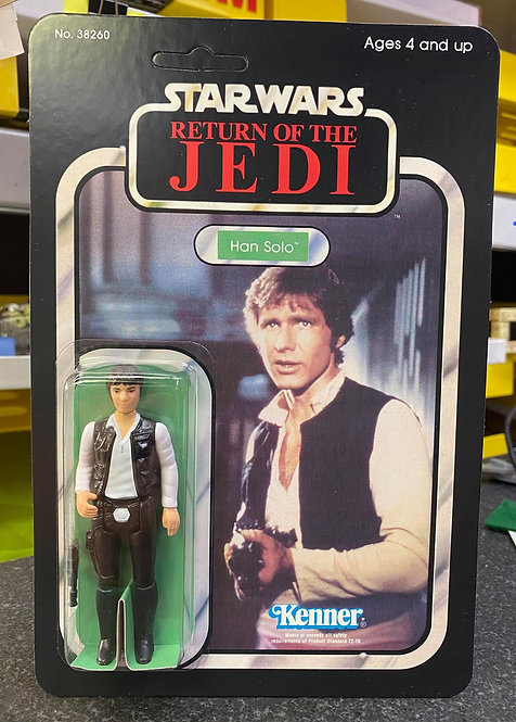 Han Solo - ROTJ Alternate Image 77a Back