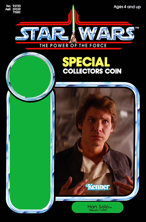 Han Solo (Bespin Outfit) POTF 92 Back Custom