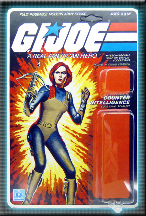 Resto Kit - G.I. Joe - Scarlett - Straight Arm