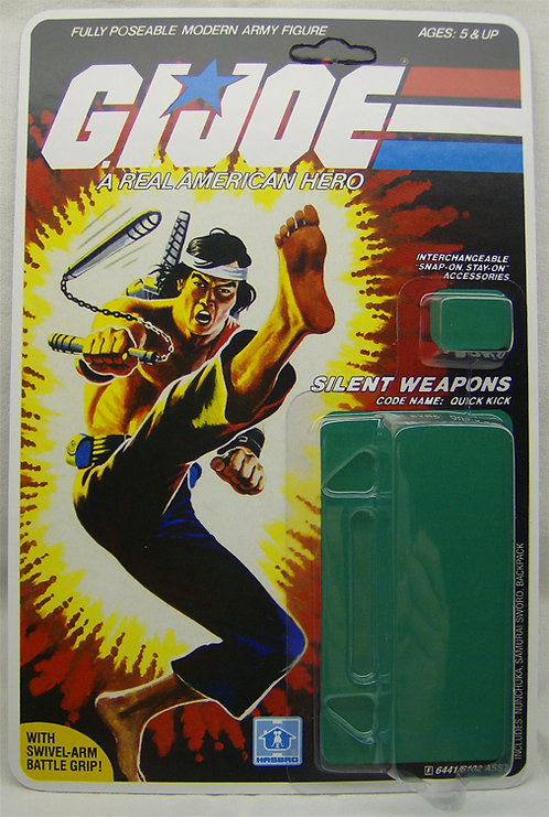 Resto Kit - G.I. Joe - Quick Kick