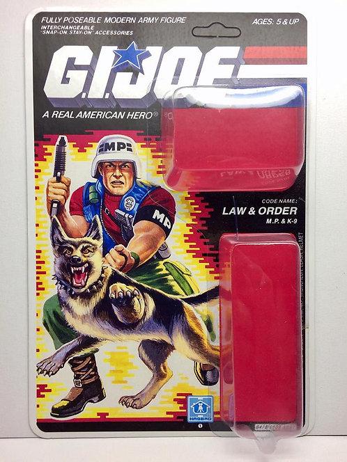 Resto Kit - G.I. Joe - Law & Order