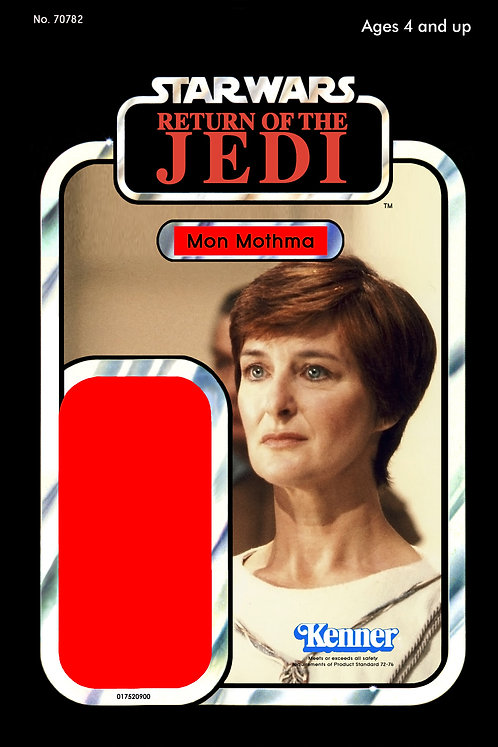 Mon Mothma Image ROTJ 77a Back Custom