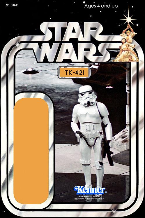 Tk-421 Strormtrooper - 12a Back Star Wars Custom