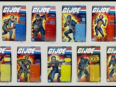 G. I.  Joe Series 1 Straight-arm Master Set