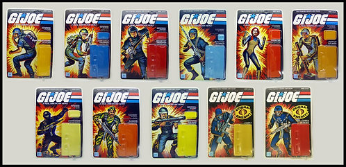 G. I.  Joe Series 1 Straight-arm Master Set