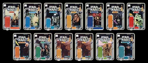 Complete STAR WARS 12 Back Set