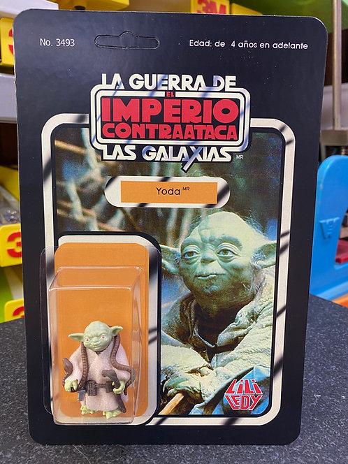 Yoda ESB Lily Ledy Carded Recreation
