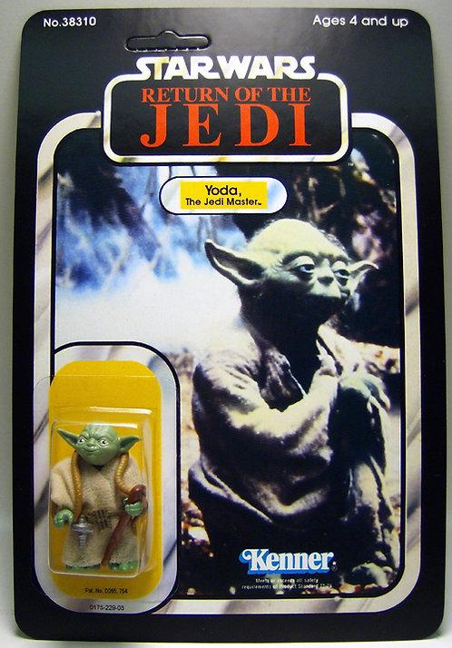 Yoda Brown Snake - ROTJ 77a Alternate Image 77a Back