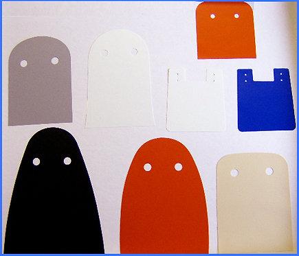 8 Piece Various Characters- Soft Vinyl Cape Replacement Set