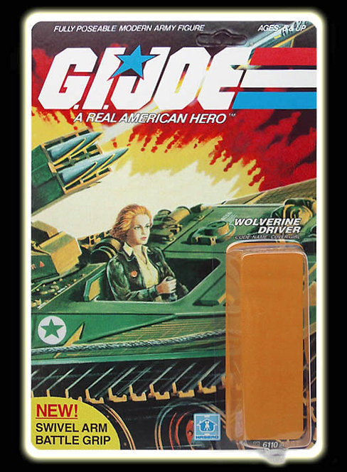 Resto Kit - G.I. Joe - Cover Girl