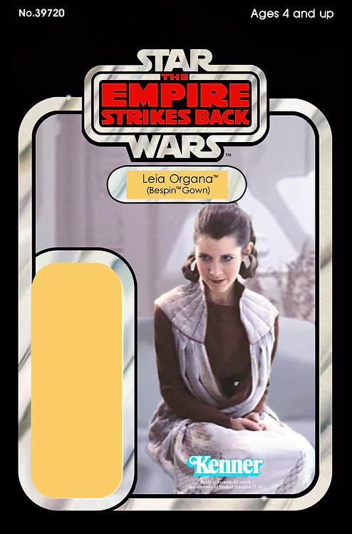 Leia Gown - Bespin Apartment ESB 32b Back Custom