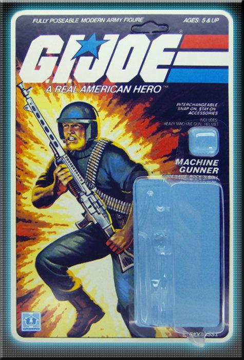 Resto Kit - G.I. Joe - Rock 'N Roll - Straight Arm
