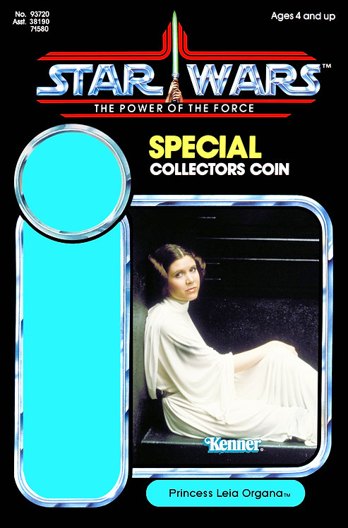 Princess Leia Organa POTF 92 Back Custom
