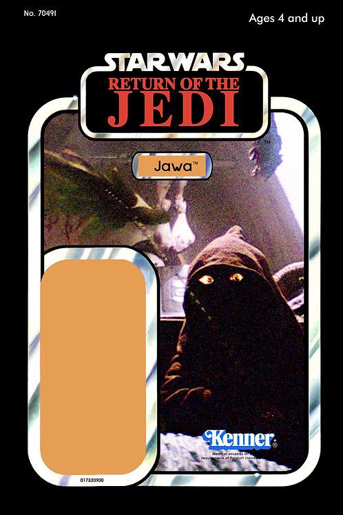 Jawa - Jabba's Palace - ROTJ 65b Back Custom