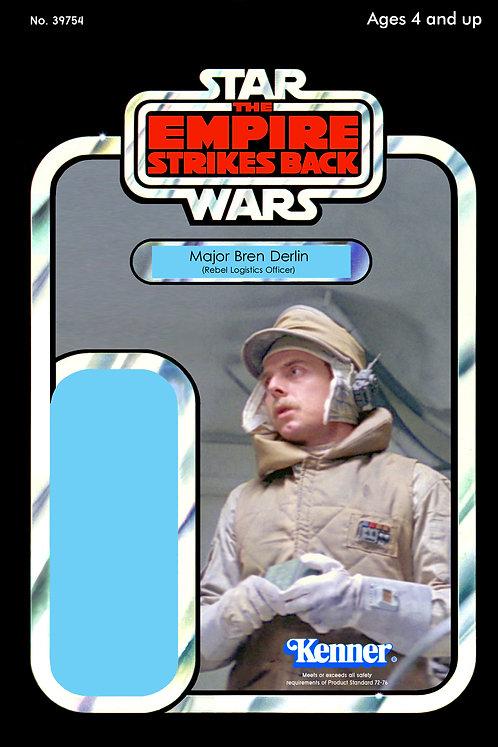 Major Bren Derlin - Rebel Logistics Officer ESB 48a Back Custom