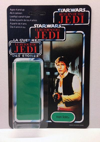 Resto Kit - Han Solo Tri-Logo Card Back Kit