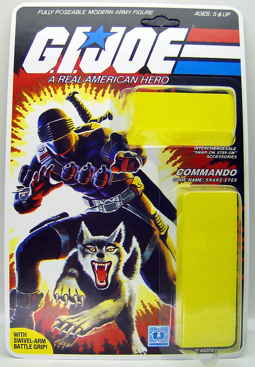 Resto Kit - G.I. Joe - Snake Eyes w/Timber