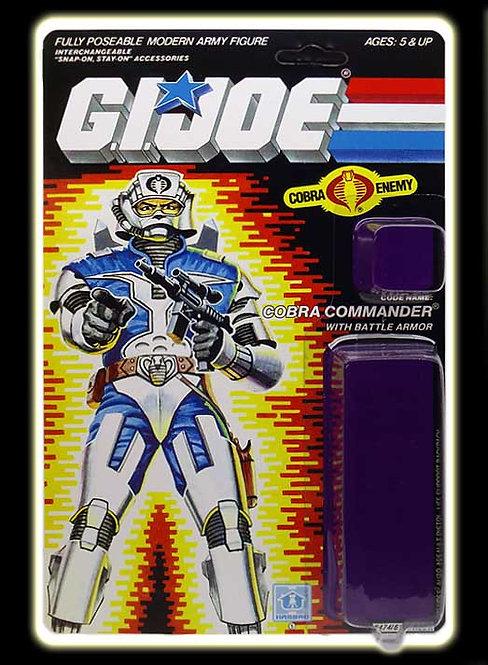 Resto Kit - G.I. Joe - Cobra Commander v3