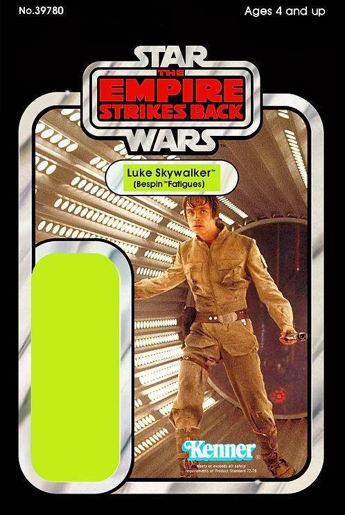 Luke Skywalker Bespin Fatigues ESB 31a Back Custom