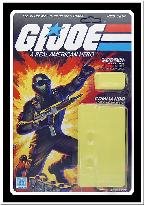 Resto Kit - G.I. Joe - Snake Eyes - Straight Arm