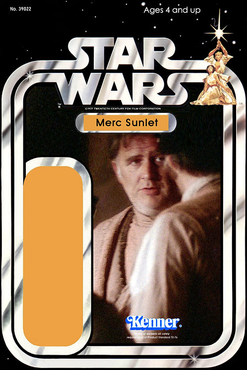 Merc Sunlet - Tirac Munda Thief  21a Back Star Wars Custom