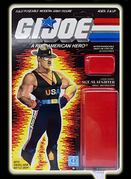 Resto Kit - G.I. Joe - Sgt. Slaughter