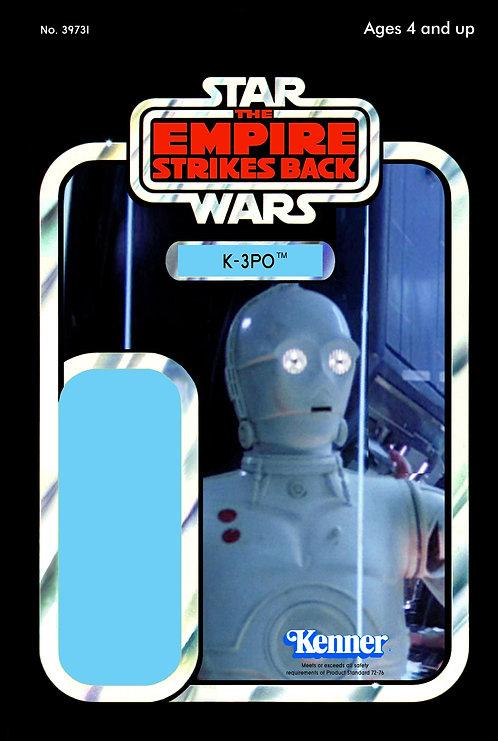 K-3PO - Rebel Logistics Droid ESB 32b Back Custom