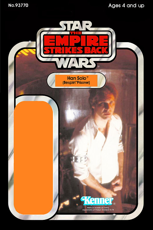 Han Solo Bespin Prisoner ESB 48a Back Custom