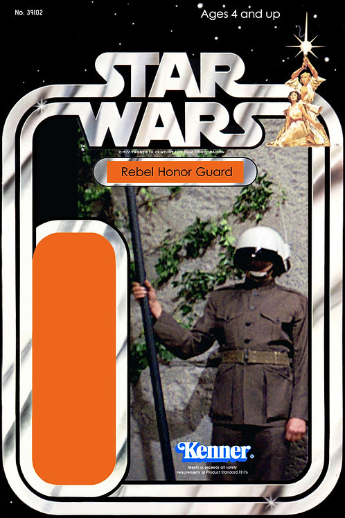 Rebel Honor Guard - 21a Back Star Wars Custom