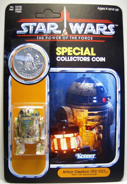 R2-D2  Dagobah (Custom) - POTF 92 Back