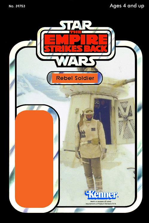 Rebel Soldier - Hoth Turret ESB 41d Back Custom