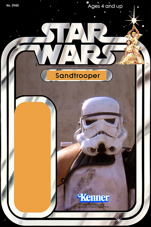Sandtrooper No. 3 - 21a Back Star Wars Custom