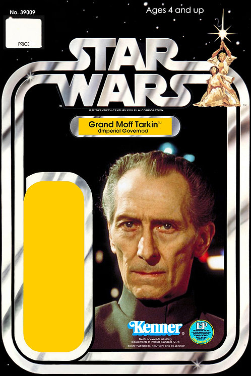 Grand Moff Tarkin Version One - 12a Back Star Wars Custom Kit