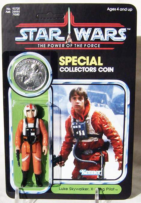 Luke X-wing Gear (Custom) - POTF 92 Back