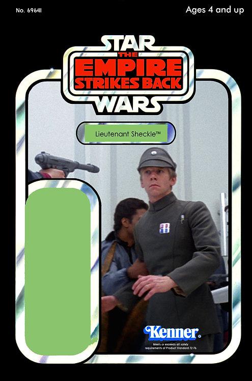 Lieutenant Sheckle ESB 41d Back Custom