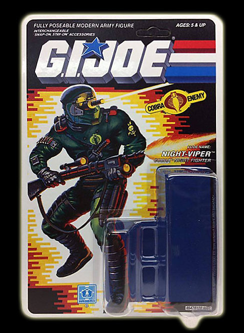 Resto Kit - G.I. Joe - Night-Viper