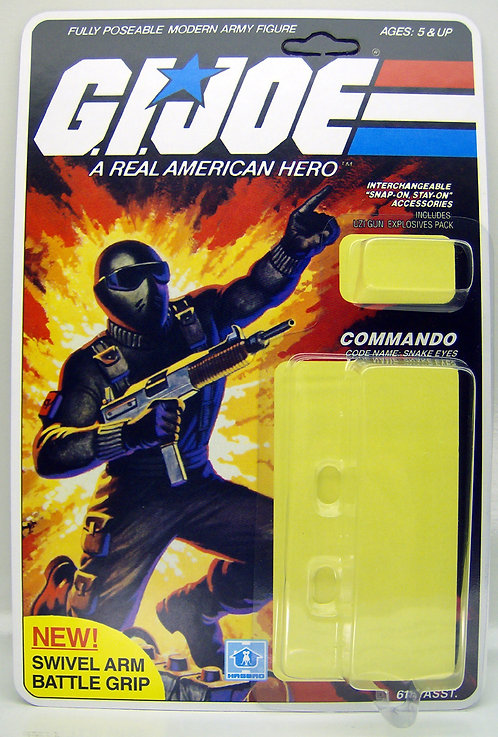 Resto Kit - G.I. Joe - Snake Eyes - Swivel Arm