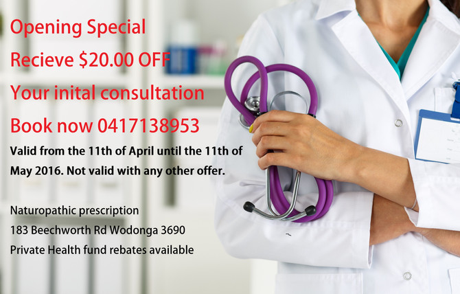 Current Naturopath Special