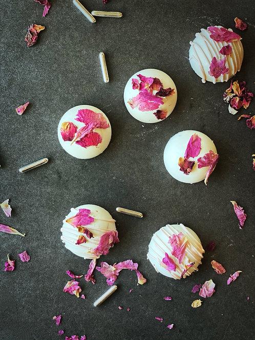 Rose Petal Truffles