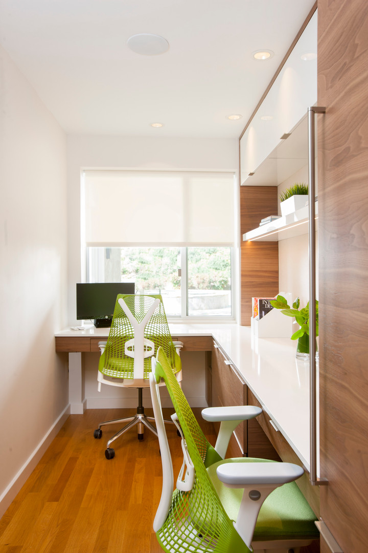 Modern Master Suite & Office