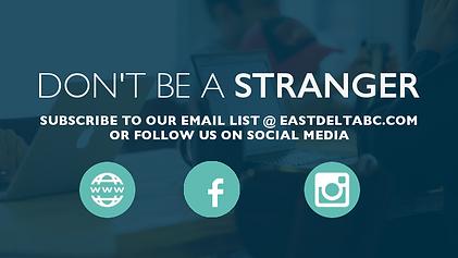 East Delta Baptist Church social media information, church near cooper texas