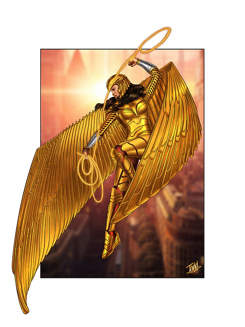 WW84 Gold Armor
