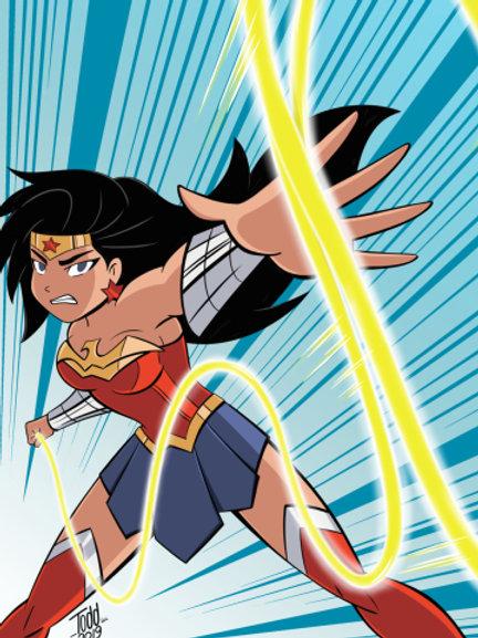 Wonder Woman - Justice League Action