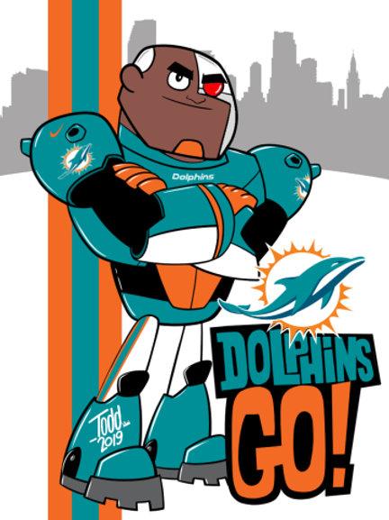 Dolphins Go!