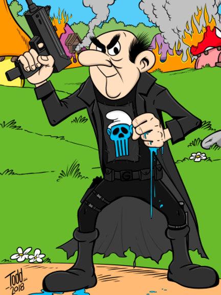 Gargamel the Punisher