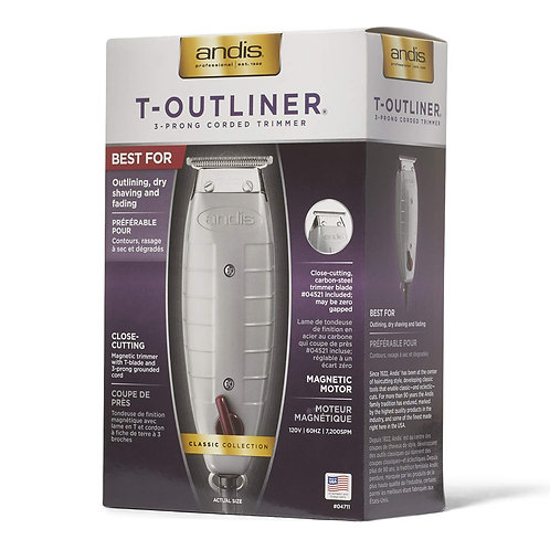 Andis T-Outliner Corded Trimmer with T-Blade