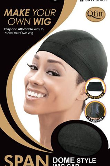 SPAN DOME STYLE WIG CAP