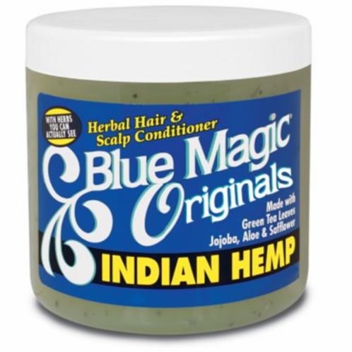 Blue Magic Organics Indian Hemp Herbal Hair & Scalp Conditioner 12 oz