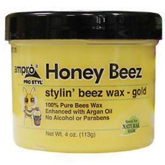 Ampro Honey Beez Stylin' Beez Wax-Gold 4 Ounce
