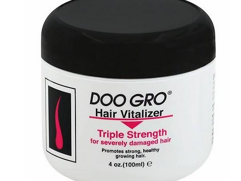 Doo Gro Hair Vitalizer Triple Strength for Severely Damaged Hair 4 oz